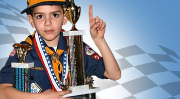 Pinewood Derby Racers