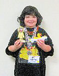 awana pinewood derby - girl car