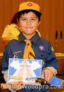 Tiger scout pinewood derby winner