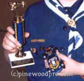 pinewood derby car winner