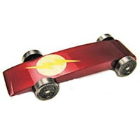 Lightning Bolt pinewood derby picture