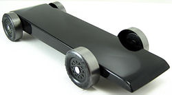 wedge pre-cut pinewood derby car picture