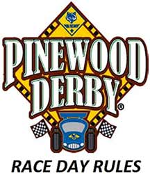 pinewood derby rules