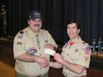 Joe Donation Pinewood Derby