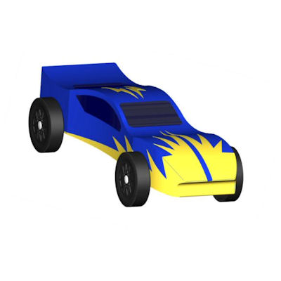 Pinewood Derby Design - The Flash