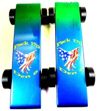 Sandy Hook CT tribute pinewood derby cars