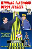 winning pinewood derby secrets book image