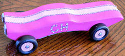 Girl Scout Diamond Derby Car