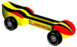 fastest pinewood derby car designs