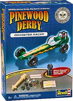 complete pinewood derby car kit picture