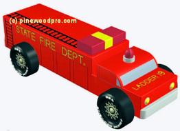 Truck Pinewood Derby Car Designs