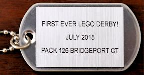first lego derby medal