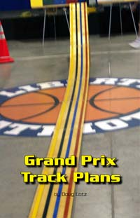 pinewood derby grand prix track image