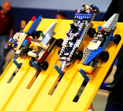 Lego Car Racing