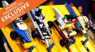 LEGO Derby car supplies with PRO Brick Wheels