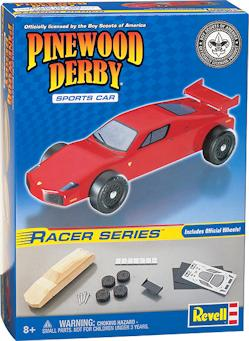 pinewood derby sports car kit picture