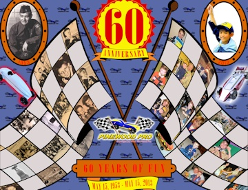 Pinewood Derby 60th Anniversary Poster