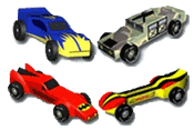 pinewood derby design template and patterns