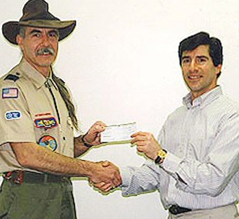 Cub Scouts Pinewood Derby donation