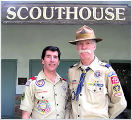 Gary and Joe at Scouthouse