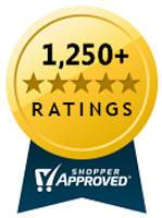 Shopper Approved certification badge