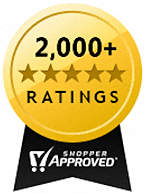 Shopper Approved ratings and review certification badge