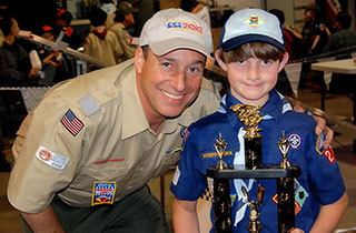 Cub scout derby Winner