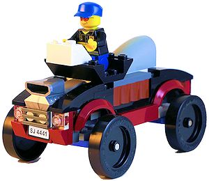 Lego Derby Car Racing Pro Brick