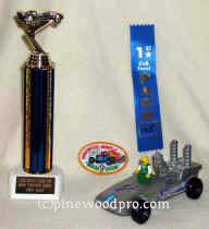 winning pinewood derby car