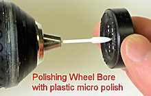 wheel bore polisher