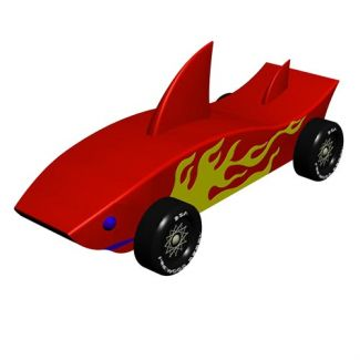 Pinewood derby car designer for Pinewood derby corvette template