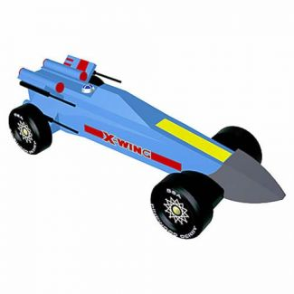 Star Wars Pinewood Derby X-Wing Fighter Car Design Plan - INSTANT DOWNLOAD