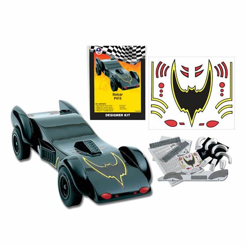Bat Car Pinewood Derby Accessory Kit