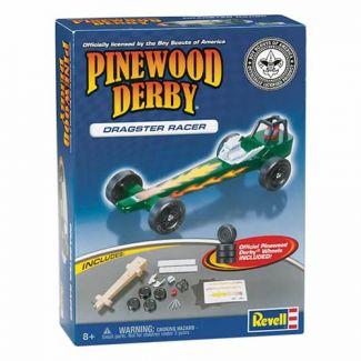 Dragster BSA Pinewood Derby Car Kit