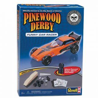 Pinewood Derby Car Sport Coupe Pre Cut Car Block