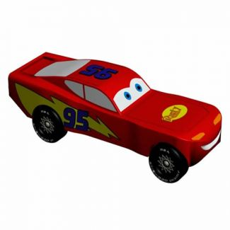 Lightning McQueen - Pixar Car INSTANT DOWNLOAD Car Design  sc 1 st  Pinewood Pro & Pinewood Derby Car Design Plan - Lightning McQueen