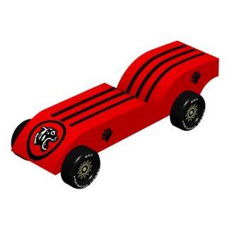 Tiger Pinewood Derby 3d Design Plan Instant Download